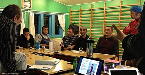 Meeting in Attu Natural Resource Council, Qaasuitsup Municipality